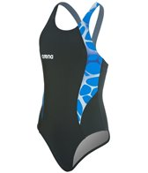 Arena Carbonite Girls One Piece Swim Pro Back