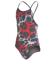 Arena Polycarbonite Girls One Piece Drop Back