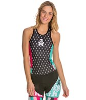 Betty Designs Jacquard Tri Top