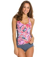 Beach House Mai Tai Floral Engage Tankini Top
