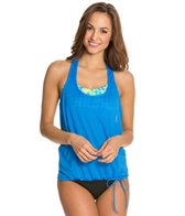 Beach House Hazy Days Dot Lila Tankini Top