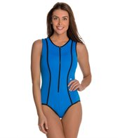 Beach House Solid Mojo Scuba One Piece