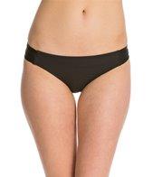 Ella Moss Solid Tab Side Bikini Bottom