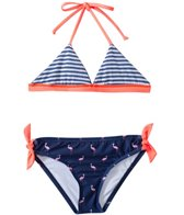 Splendid Girls' Palm Beach Reversible Triangle Top With Retro Bottom Set (7yrs-16yrs)