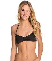 Roxy Girls Just Wanna Have Fun Halter Triangle Bikini Top