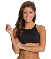 Roxy Girls Just Wanna Have Fun Crop Halter Top