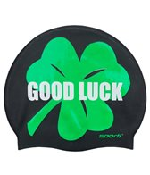 Sporti Good Luck Silicone Swim Cap