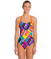 Arena Espresso Female Lightech Back One Piece