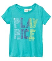 Roxy Kids Girls' Play Nice Crew NeckTee (2yrs-7yrs)