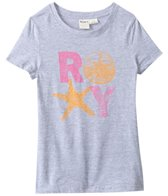 Roxy Kids Girls' Roxy Shells Crew Neck Tee (8yrs-16yrs)