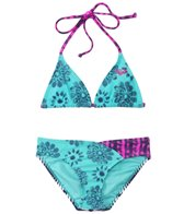 Roxy Kids Girls' Batik Paradise Tiki Tri Set (8yrs-16yrs)