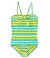 Roxy Kids Girls' All Aboard Striped One Piece (2T-7yrs)