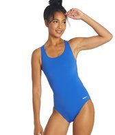Sporti Poly Pro Solid Wide Strap Swimsuit