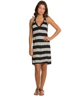 Hurley Tomboy Stripe Cover Up Dress