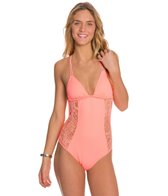 Hurley Webbed One Piece
