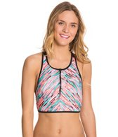 Hurley Static Lined Crop Top