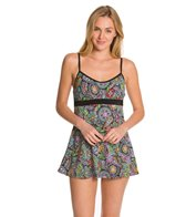 Fit4U Morocco Empire Banded Swim Dress