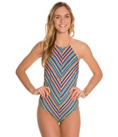 MINKPINK Herringbone Stripe One Piece