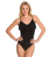 Magicsuit by Miraclesuit Fringe Solid Blaire One Piece