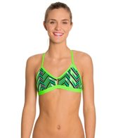 Blue Seventy Women's Chevron Performance Bikini Swimsuit Top