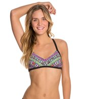 Bikini Lab Don't Worry Be Strappy Bralette Top