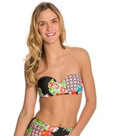Bikini Lab Hot & Cold Underwire Bandeau Top