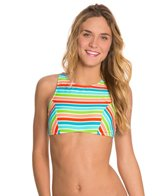 Bikini Lab Rainbow Perfection High Neck Top
