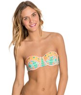 Bikini Lab Someday My Prints Will Come Underwire Bandeau Top