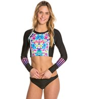 Bikini Lab Counting Starfish L/S Crop Rashguard