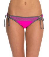 Bikini Lab Sporty Splice Adjustable Hipster Bottom