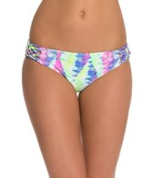 Bikini Lab Live and Let Tie Dye Hipster Bottom