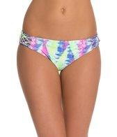 Bikini Lab Live and Let Tie Dye Hipster Bikini Bottom
