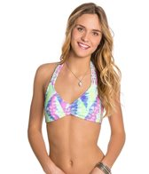 Bikini Lab Live and Let Tie Dye Bralette Top