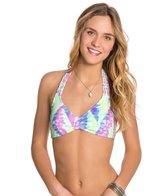 Bikini Lab Live and Let Tie Dye Bralette Bikini Top