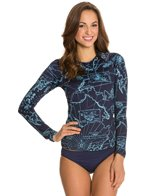 Tommy Bahama Vintage Map Empire L/S Rashguard