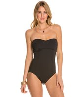 Tommy Bahama Pearl Solids Pleated Tie Back One Piece