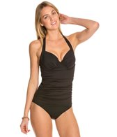 Tommy Bahama Pearl Solids Halter Tankini Top (C/D/DD)