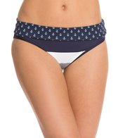 Tommy Bahama Bold Stripe and Mini Anchor Reversible Wide Band Hipster Bottom
