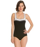 Active Spirit Sport Support Tank Swimsuit