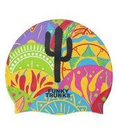 Funky Trunks Freestyle Fiesta Silicone Swim Cap