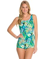 T.H.E Martinique Classic Sarong Sheath Swimdress