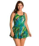 T.H.E. Plus St. Lucia V-Neck Princess Swimdress