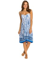 Dotti Tie Dye Time Hi Lo Bandeau Dress