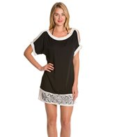Dotti Block Out Shoulder Cut Out Tunic