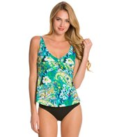 Topanga Martinique Mastectomy Twist Bra Tankini Top