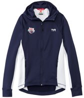 TYR USA Swimming Men's Alliance Victory Warm Up Jacket