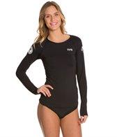 TYR USA Swimming Women's Long Sleeve Swim Shirt