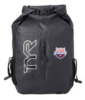 TYR USA Swimming Wet/Dry Backpack 27L