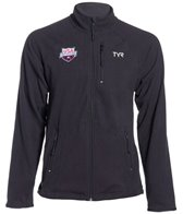 TYR USA Swimming All Elements Men's Polar Fleece Zip-Up
