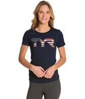 TYR USA Swimming Women's Americana Graphic Tee